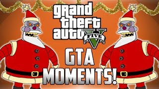 GTA 5 Online Funny Moments (CHRISTMAS SPECIAL!) - Flying Tanks, Human Skeet Shooting & More!