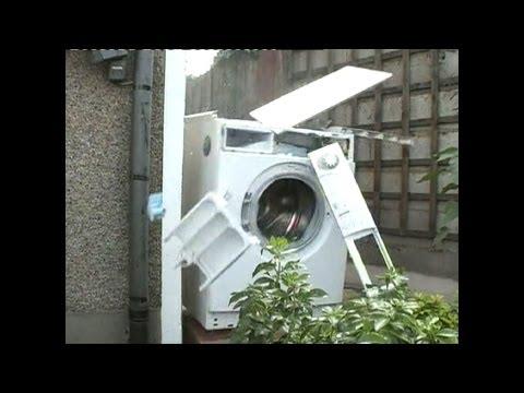 The Original Washing Machine Self Destructs