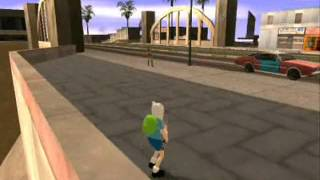 Loquendo Un Dia Con Finn En El GTA San Andreas (parte 1