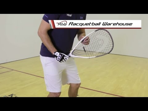 The Racquetball Lob Serve