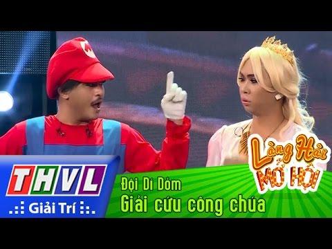 THVL | Làng hài mở hội - Tập 26: Giải cứu công chúa - Đội Dí Dỏm