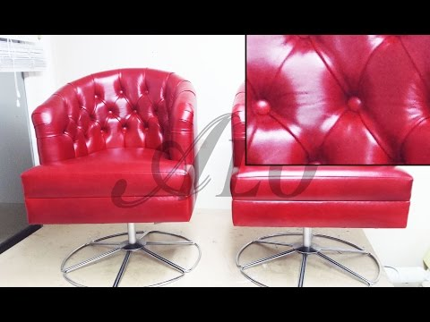 HOW TO UPHOLSTER A TUFTED TUB CHAIR. CHARMAINE H. - ALOWORLD