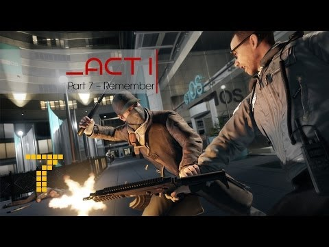 Watch Dogs Walkthrough part 7 Remember