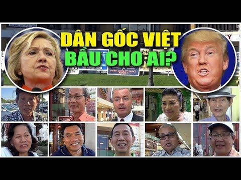 Donald Trump đấu Hillary Clinton: Dân gốc Việt nghĩ gì, bầu cho ai?