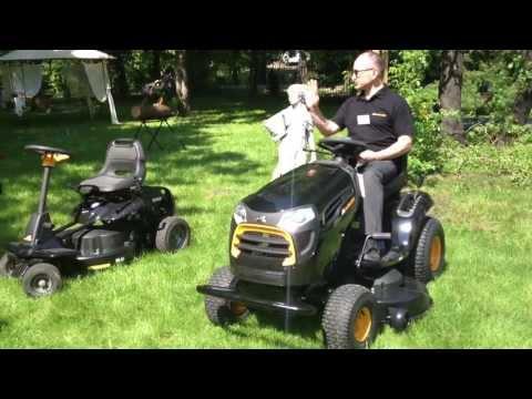 McCulloch mini traktor