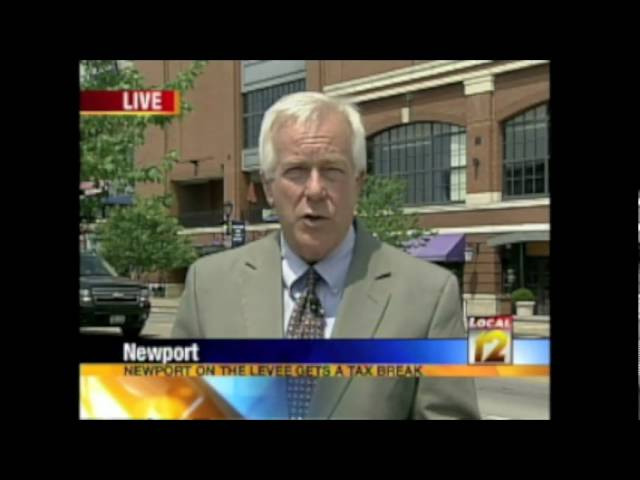 Newport On The Levee Press Conference TV Coverage 6-25-09
