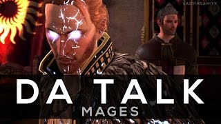 DA Talk: Mages - History of Blood, Oppression and Rebellion