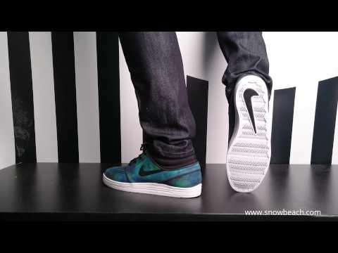 Nike sb LUNAR STEFAN JANOSKI Mid black black white 683684 002