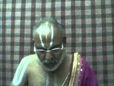 Part 006 - Upanishad Saaram - SeekshAvalli 06th AnuvAkam - Sri U Ve Uruppattur Rajagopalachariar