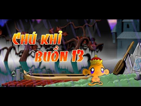 Game chú khỉ buồn 13 - Video hướng dẫn chơi game 24H