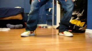 How To Hip Hop Dance Heal-Toe Flick And Gliding