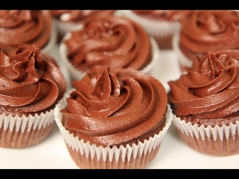 Vegan Chocolate Cupcakes Recipe - Vegan Chocolate Buttercream Recipe
