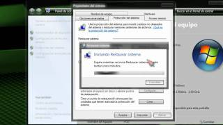 Restaurar Windows 7 A Un Punto Anterior