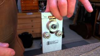 Watch the Trade Secrets Video, FretBender demo: putting the curve in guitar frets