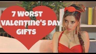 7 Worst Valentine's Day Gifts
