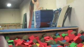 Funny Gymnasts Doing Gymnastics