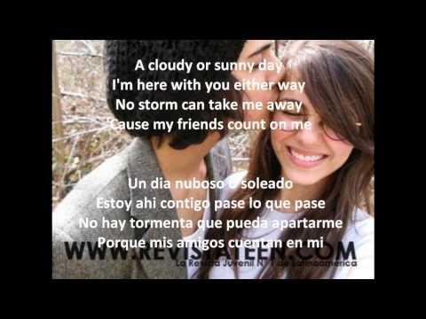 Victoria Justice Friends Count Version Completa Español-Ingles