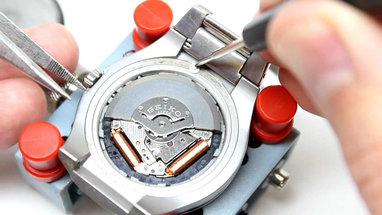 How To Change Replace Your Seiko Kinetic Battery Capacitor