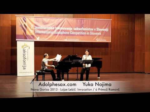 Yuka Nojima – Nova Gorica 2013 – Lojze Lebi?: Invocation / à Primož Ramovš
