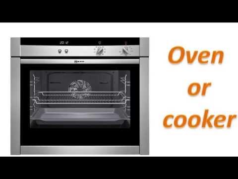 Học từ vựng tiếng Anh qua hình ảnh theo chủ đề - Nhà bếp