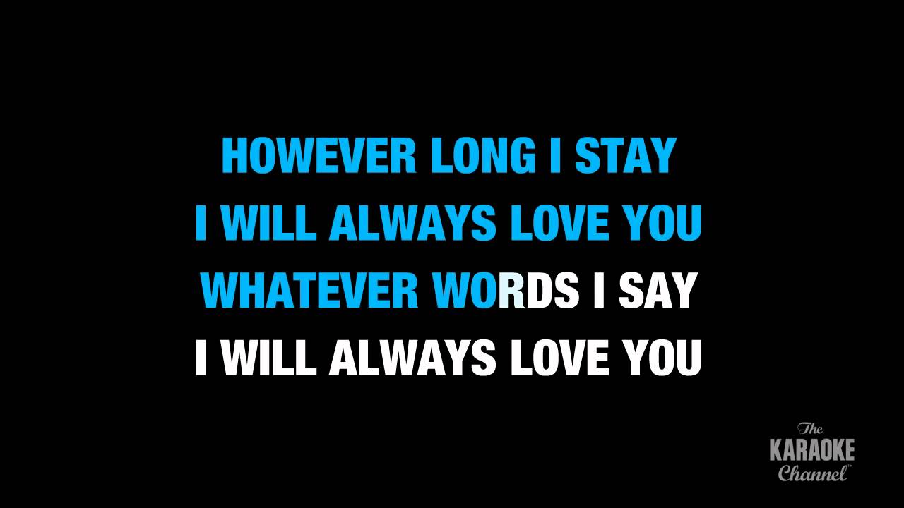 """Love Song in the Style of """"Adele"""" karaoke video with lyrics (no lead vocal) - YouTube"""