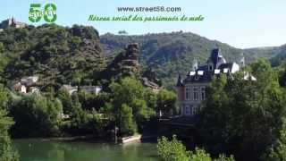 Roadbook moto Tarn : La Presqu'île d'Ambialet