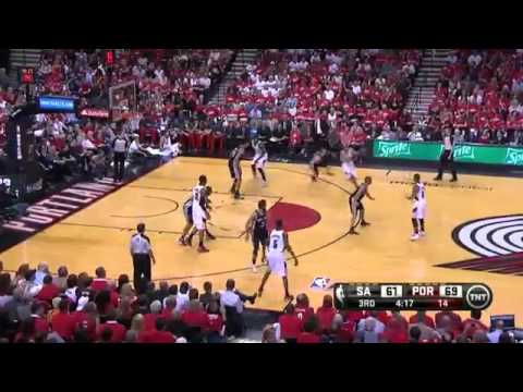 Spurs 1 Vs Blazers 5   Game 4 Recap   Semi Finals   2014 Nba Playoffs