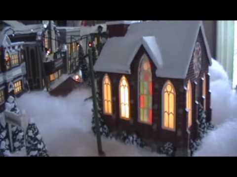 Christmas Village 2008 It 39 S A Wonderful Life Bedford Falls Youtube