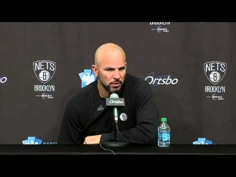 Brooklyn Nets head coach Jason Kidd on facing the Charlotte Bobcats