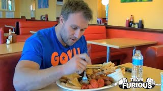 Furious World Tour | London, UK - $2,000 Burger, Big Breakfasts & World Records | Furious Pete