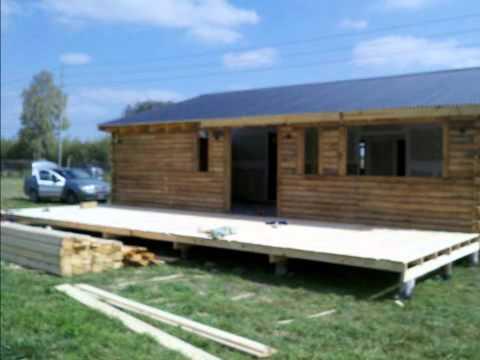 Construccion caba as de madera youtube - Construccion de cabanas de madera ...