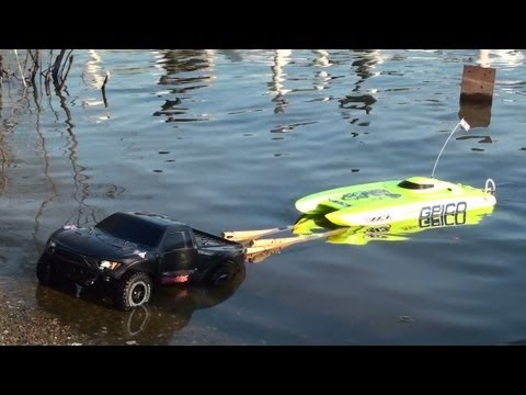 Rc Traxxas Launch speed boat
