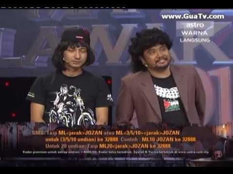 Maharaja Lawak Mega 2012 Minggu7 Part4 Jozan