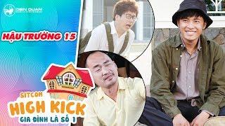 Gia đình là số 1 sitcom | hậu trường 15: Gin Tuấn Kiệt cười lăn lóc với màn quăng miếng của Phát La