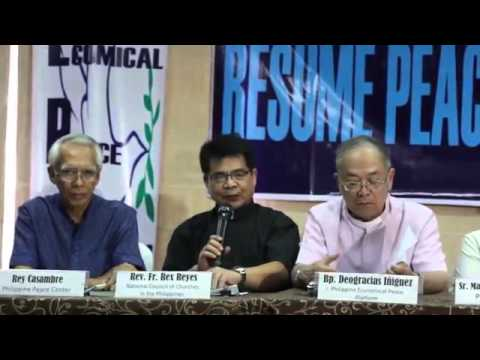 Uphold the JASIG, resume peace talks -- NCCP