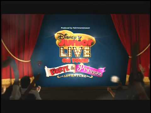 Disney Junior Live On Tour: Pirate & Princess Adventure in Laredo ONE DAY ONLY on December 23, 2013.