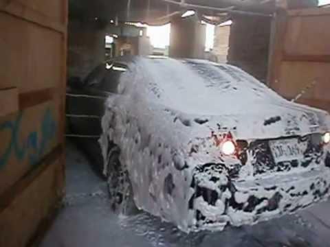 MAQUINAS PARA LAVADERO DE AUTOS Tunel lavado de autos Peru.wmv