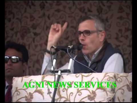 ANANTNAG .. J&K CM OMAR ABDULLAH LASHES AT MODI