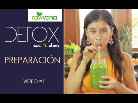 DETOX de jugos en 3 dias-Introduccion -3 day Juice detox-INTRO