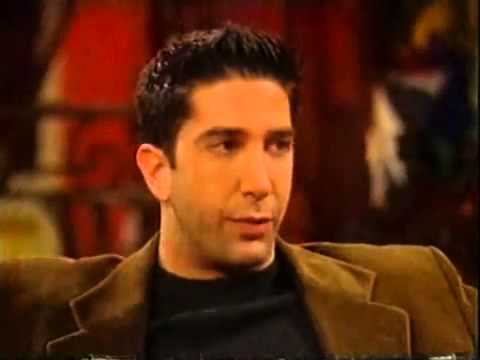 Gaby Roslin meets Friends cast - Matthew Perry, Matt LeBlanc and David Schwimmer part 1
