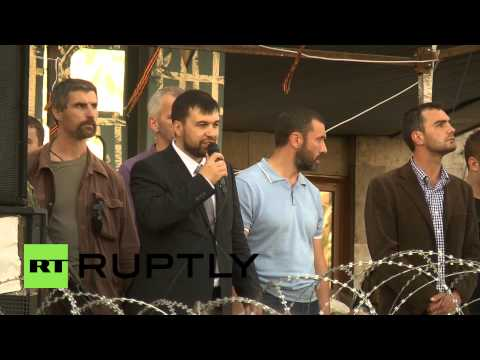 Ukraine: Pushilin says DPR came to