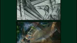 Tarzan Opening Sequence Storyreel Vs. Final