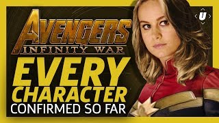 Avengers Infinity War Cast: Every Character Confirmed So Far
