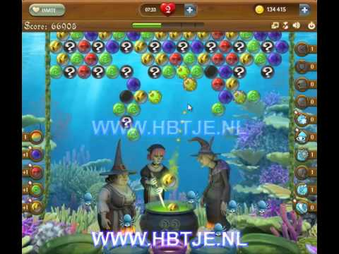 Bubble Witch Saga level 158