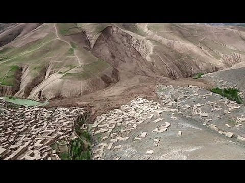 Afghanistan landslide: Search for victims goes on