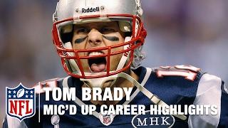 Best of Tom Brady's Career Mic'd Up Moments...so far   NFL