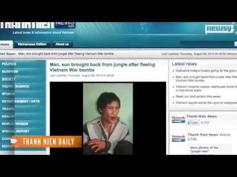 'Người rừng' Việt Nam trên báo quốc tế   VnExpress