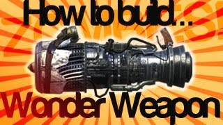 How To Get The JET GUN- Black Ops 2 ZOMBIES BUILDABLE