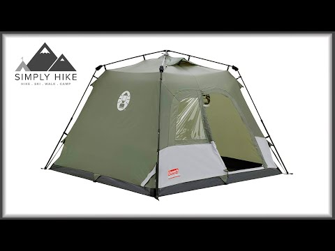 Coleman Instant 4 - www.simplyhike.co.uk