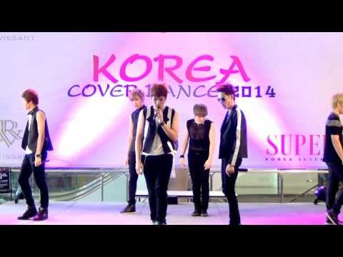 140301 Six Saint cover BEAST/B2ST - Shadow @Esplanade Korea Cover Dance 2014 (Audition)